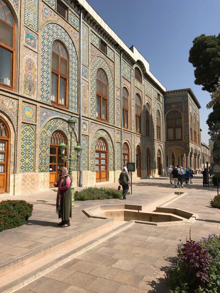 Palais du Golestan à Téhéran