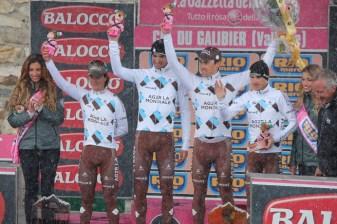2013 meilleure équipe sous la neige au Galibier