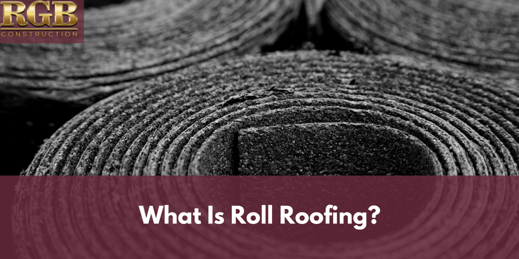what is roll roofing