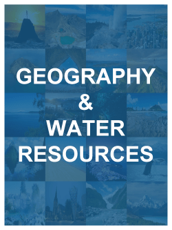 Geography & Water