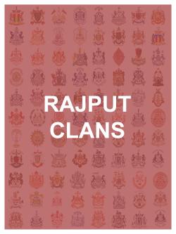 Rajput Clans