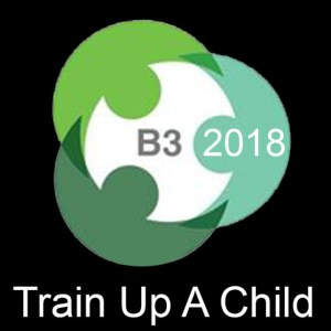 B3 conference logo.