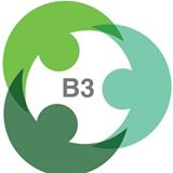 B3 conference logo.