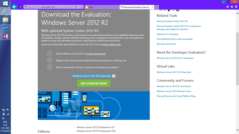 Probando Windows Server 2012 R2 + System Center! [VHD] (2/6)