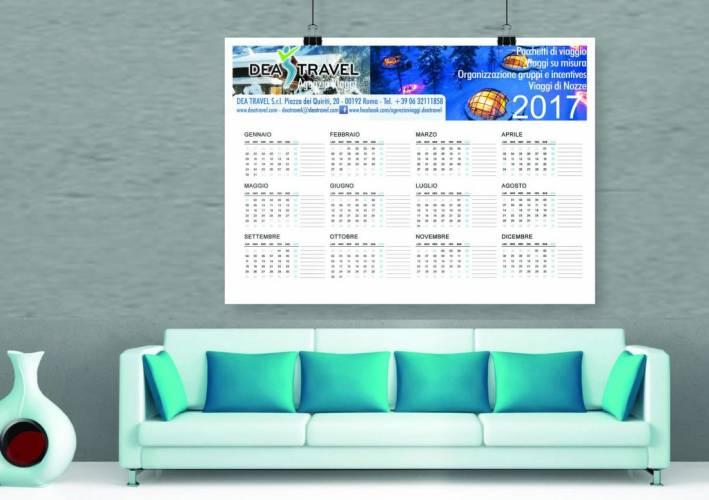 Calendari Personalizzati Poster 2017