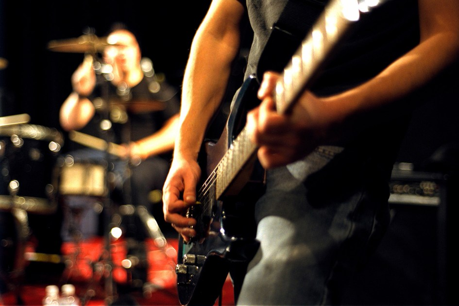 Creazione siti internet roma Music Band
