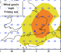 gusty Friday