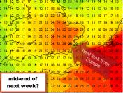 heat leak from Europe