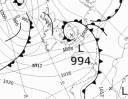 tight isobars stay in France