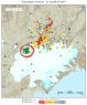 Bardarbunga caldera rim focus of quakes