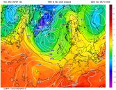cooler air mass next week