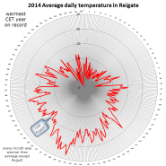 Reigate temperature ring cycle