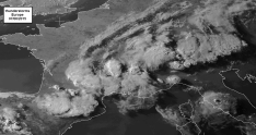thunderstorms in Europe