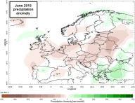 june 2015 precipitation anomaly
