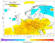 Europe July heatwave