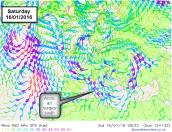 arctic air surges south
