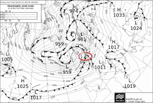 Fronts impact first Imogen