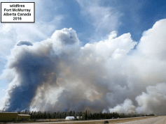 wild fires in Canada