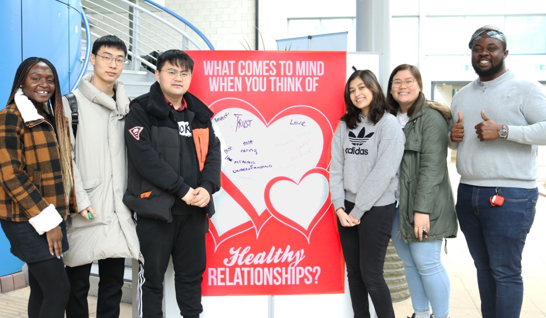 Healthy relationships RGU students