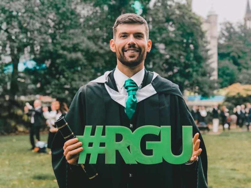 Virtual Graduation at RGU