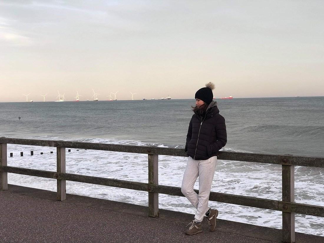 Suprensha by the Aberdeen Beach