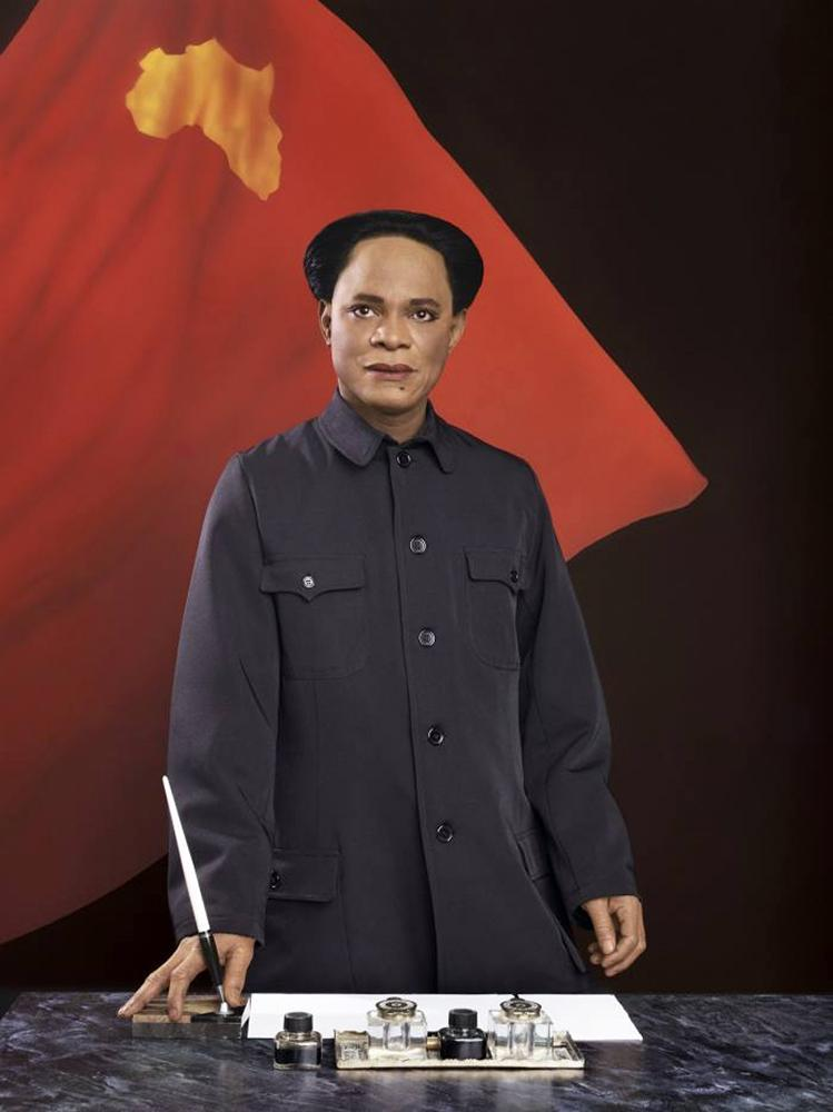 Samuel Fosso, Self-Portrait as Mao Zedong, from the series Emperor of Africa, 2013