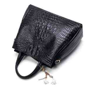 Fashion Crocodile Pattern Leather Women Messenger Bags 2 Sets
