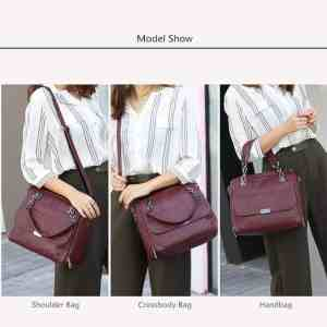 New Vintage Leather Chains Handbags for Women