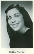 Kathy Mazza's yearbook picture from Plainedge High School in North Massapequa, NY Class of 1973