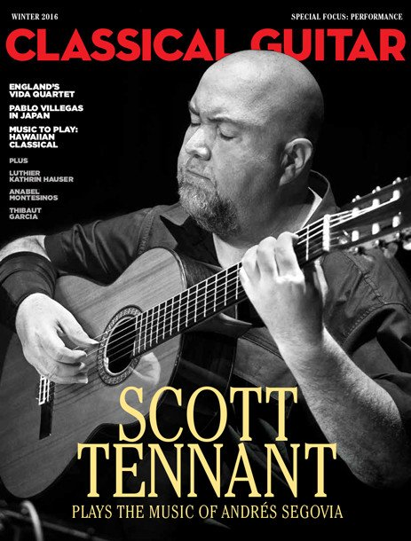 Classical Guitar Magazine Winter 2016