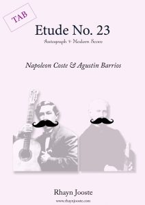 coste & barrios etude 23 by rhayn jooste