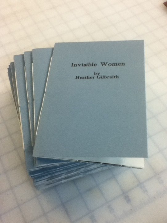 Invisible Women booklets