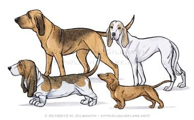 Nosy Scenthounds
