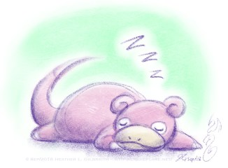 Sleepy Slowpoke