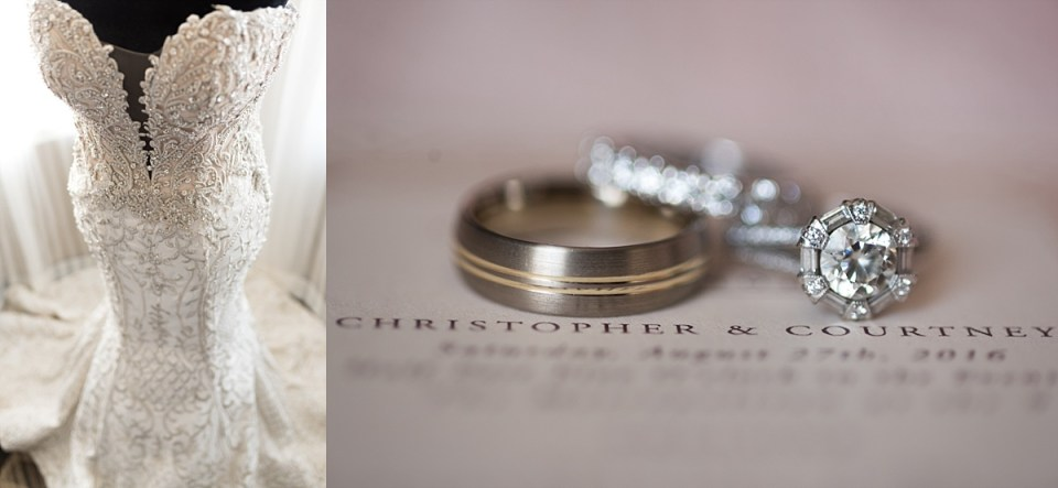 Courtney and Chris Wedding Rings