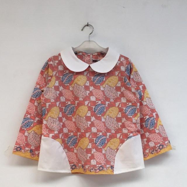 atasan batik wanita - anara blouse