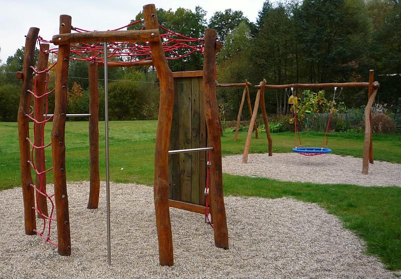 Klettergerüst Garten Holz Ei14  Hitoiro