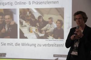 "Pitch für ""AndersGründer"" im Social Impact Lab Frankfurt"
