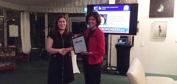 Europioneers Entrepreneur Verleihung