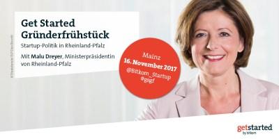 Politisches Gruenderfruehstueck mit Malu Dreyer