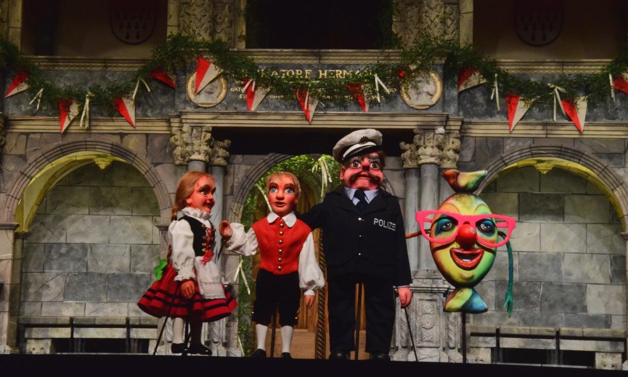 """Rheinerlei und """"Et kölsche Jrundjesetz"""" – Hänneschen-Theater"""