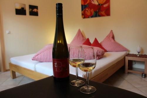 Übernachten beim Vinocamp Rheinhessen - Weingut Beyer-Bähr