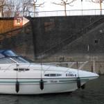 Hafenmauer Marina Düsseldorf