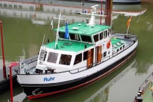 Erwerb des Radarpatent für die Binnenschifffahrt - MS Ruhr