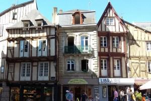 Vannes, die Hauptstadt des Départements Morbihan - Altstadt Vannes