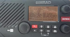 Kombikurs UKW Funk SRC und UBI für Sportbootfahrer - SIMRAD UKW Funkgerät für den Binnen- und Seefunk