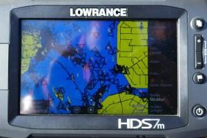 Portable AIS Receiver und Transponder - AIS Signale am 15.10.2017 auf dem IJsselmeer