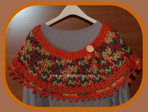 Fall Colors Ponchette by Posh Pooch Designs