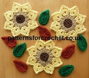 Flower Motif by Patterns For Crochet