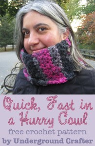 Quick, Fast in a Hurry Cowl by Underground Crafter